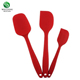 3-Piece Silicone Spatula Set Private Label,Easy Flex Silicone Spatula Supplier