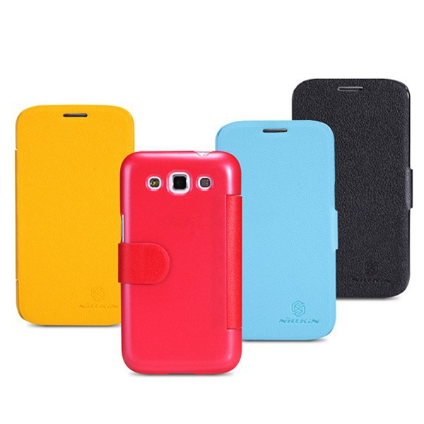Nillkin Fresh Slim PU Leather Flip Cover Hard Case for Samsung Galaxy Win i8552