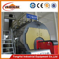 CE certification and horizontal installation 8ton gas oil boiler