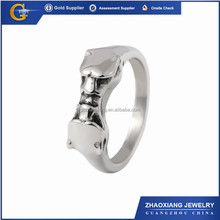 AR0005 2016 fashion jewellery 316L stainless steel animal rings