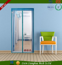 highest quality low price mesh magnetic soft screen door for houeses