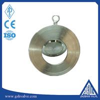 stainless steel wafer single tilting disc swing check valve