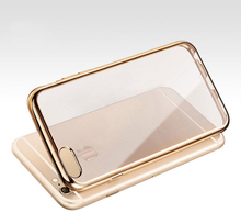 Royal Luxury Style Plating Gilded TPU Phone Case For iPhone 6 6S 4.7 / 6 6S Plus 5.5 inch Silicone Soft Back Case Cover