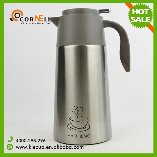 double wall stainless steel coffee pot enamel tea kettle