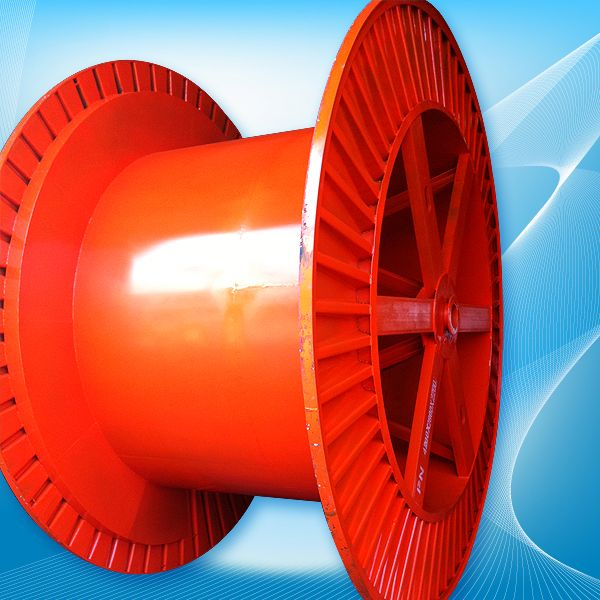 We manufacture plastic wooden wire reel