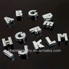 DIY Accessories Rhinestone Slide jewelry finding Alphabet Letter 26 letters for making jewelry bracelet PCC-011