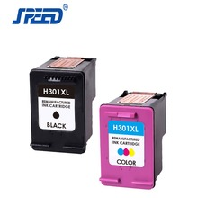 Speed Cartridge for hp301 XL CHIP RESET compatible ink cartridges for hp 301 Best quality inkjet cartridges