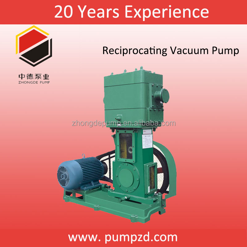 Oil Free Dry Rotary Vane Vacuum Pump For Vacuum Distillation