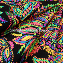 neon printed fabric/elastic bikini fabric wholesale