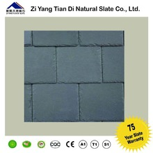 CE Passed Black Stone Tile Natural Slate Roof Fast Delivery