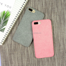 Wholesale for iphone7 suede surface cover case, back cover for iPhone 7