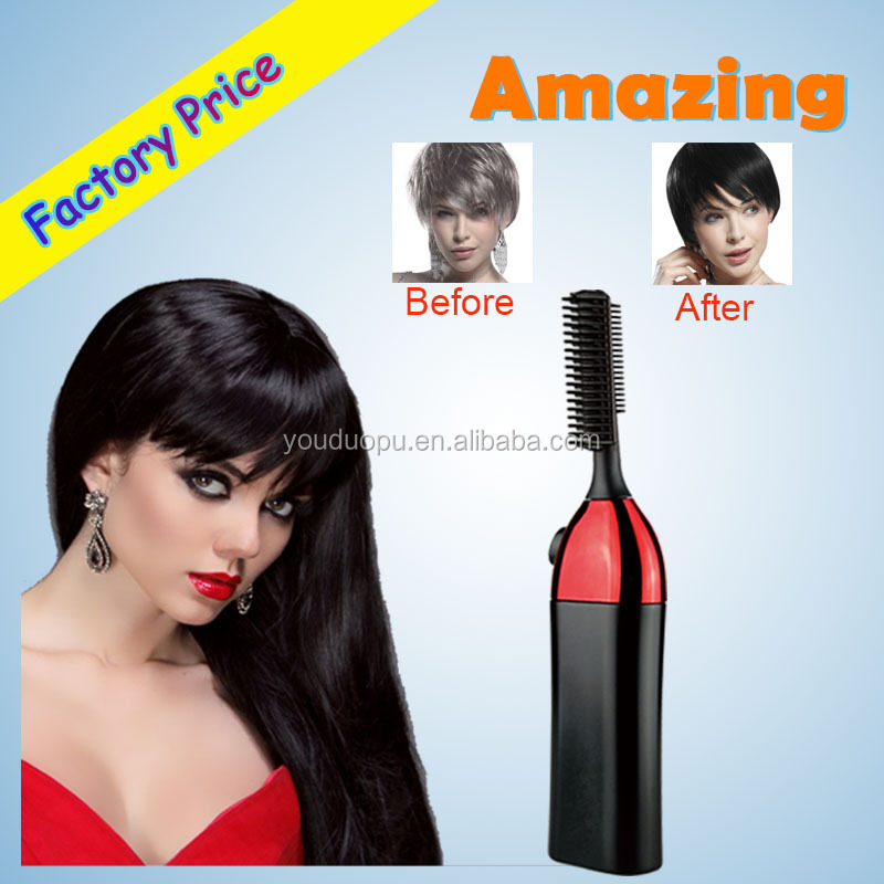 hot top big sale new fashion product the black magic comb hair dye