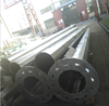 Q235 steel material 35m High Mast Light Pole 3 sections with lifting system