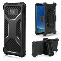 For Samsung Galaxy Note 9 Case Heavy Duty Shockproof Hybrid Holster Belt Clip Rugged Cobmo Stand Mobile Case for Samsung S9Plus