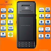 "5"" touch screen handheld mobile PDA POS terminal android4.2 with built-in printer - PT385"