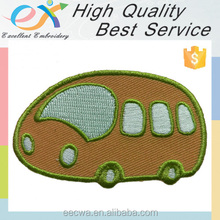 Trade Assurance customize embroidered bus patch