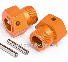 color anodized aluminum threaded engine spacer