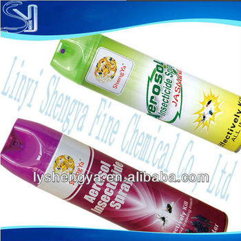 anti mosquito spray/household insecticide/bed bug spray manufacturer