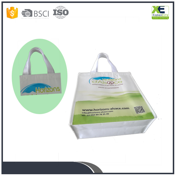 High Quality Cold Food Storage Velcro Closure Matte Laminated Insulated Cooler Bag Non Woven