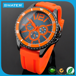 Vogue Watch Japanese Movies Free Online Japan Movt Quartz Branded Watch Stainless Steel Back, Custom Silicon Sports Man Watch