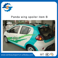 ABS plastic car rear wing spoiler for panda without light item B car parts