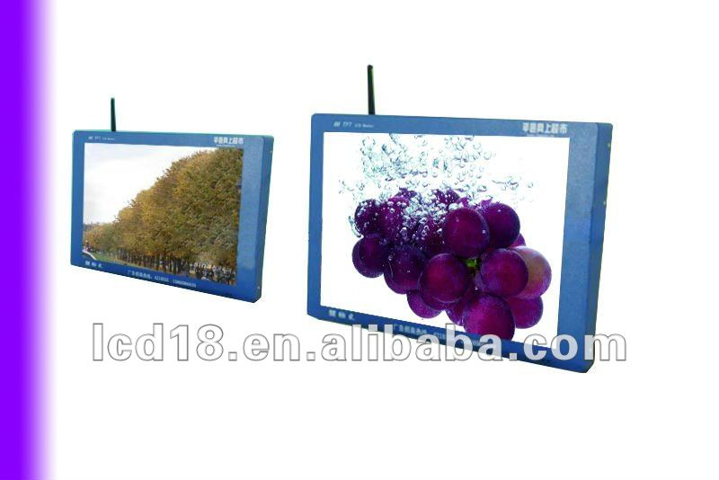 19.1 inch supermarket advertise tv