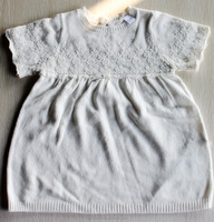 baby children's sweaters kids sweaters knitted sweater lace Dress