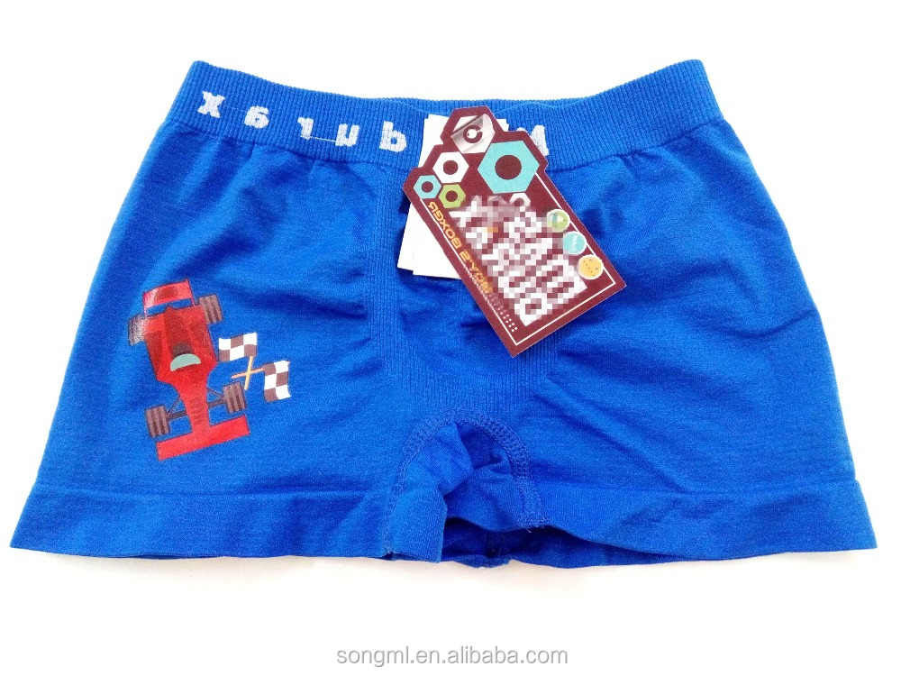 Cartoon Boy Shorts Boxer Manufacture In China OEM Nice Classic Kids Underpants children seamless kids underwear