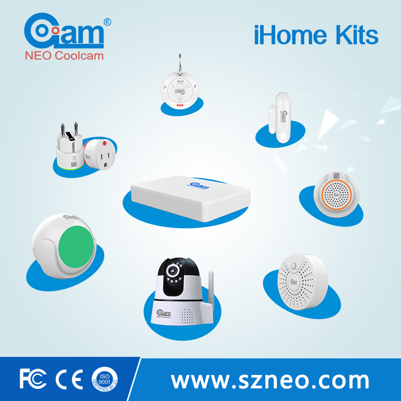 Mobile phone remote control smart home wifi siren alarm systems automation for home security