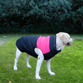 Hot sale cozy zip-up pet jacket for large dog