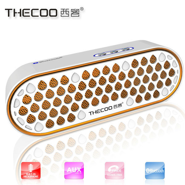 Gifts for wedding guests Thecoo bluetooth speaker, portable wireless bluetooth speaker with Aux in founcition