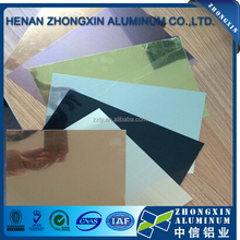 ionized aluminium mirror sheet for furniture construction