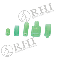 Clear Plastic Sleeve Rubber Sleeve Terminal
