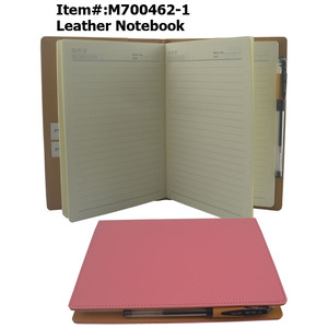 Hot Sell Handmade  A5 Size PU Leather Journal