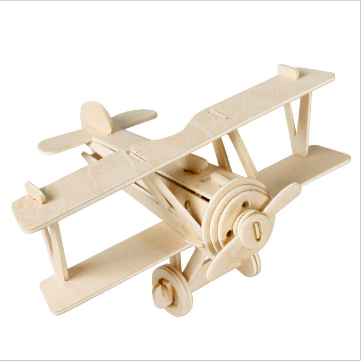 DIY 3D wooden simulation model assembled For Kids Magic Toys wholesale