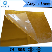 Plastic Glass Sheets 1150*1970MM marble Good chemical resistance matting acrylic board for advertising material