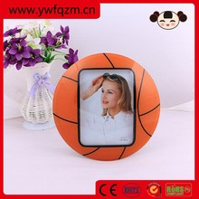 Wholesale wooden basketball photo frame