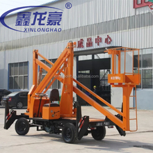 6-13.5M , 200Kg , Truck Mounted articulated boom lift platform, Self-propelled sky lift