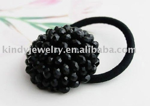 glass beads hair bands hair ornaments accessory jewelry