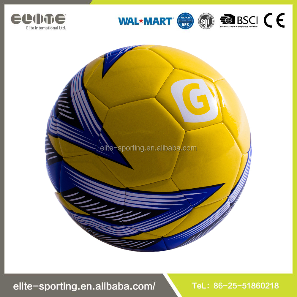 High Quality Deflated EVA Machine Stitched Football