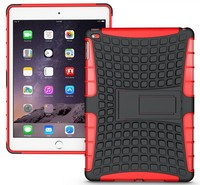 wholesale sell!! hot armor stand shell case for ipad air 2 protective case