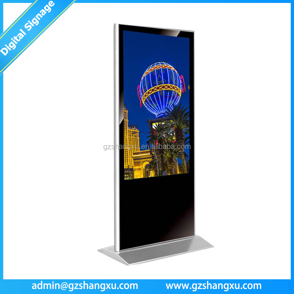 47 Inch Floor Stand Shopping Mall Touch Screen Advertising Digital Signage Display