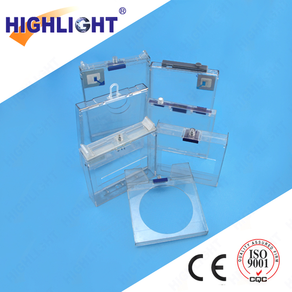 Highlight EAS supermarket retail cd security cases S020 EAS safer for CD/DVD