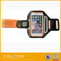 High quality hot sales mobile phone holder belt Neoprene running armband case for Iphone6