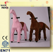 For sale!!!plush animals electric scooter, walking animal horse ride on toy, tiger horse riding toy with EN71 ASTM CE