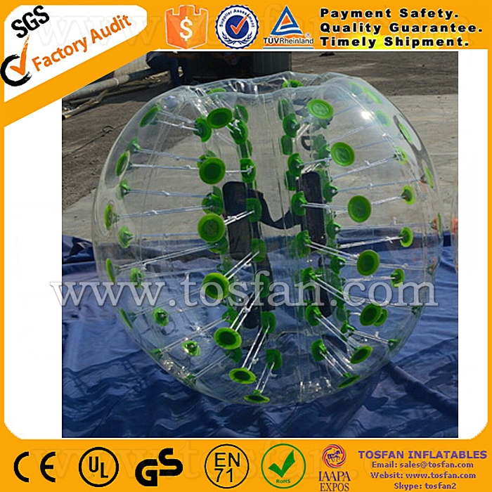Inflatable body zorbing soccer bumper balls for sale TB234