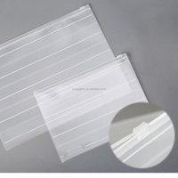 Plastic PVC Document Bags With Zipper