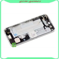 Factory price product black white color housing for iphone 5 back cover housing