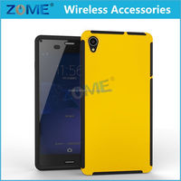 New Arrival Smart Phone Wrap Up Combo Built-in Screen Full Body Case Cover FOR SONY Z3