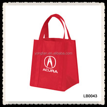 NON-WOVEN WINE GROCERY COMBO TOTE BAG WITH CARDBOARD INSERT